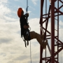 The Economy of Efficient Work at Heights